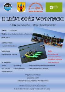 Zapisy na II Letni Obóz Wodniacki