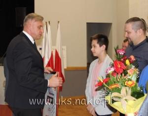 120 Filip Skubiszewski wyróżniony za osiągnięcia sportowe