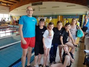 52 Ogólnopolskie Drużynowe zawody pływackie oraz Mistrzostwa Województwa kujawsko-pomorskiego w pływaniu dzieci 10-11 lat