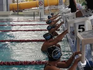 93 Rekordowa I kolejka Nakielskiej Ligi Pływania
